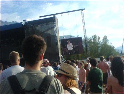 Serj Tankian of System of a Down Live at Pemberton Festival 2008, Pemberton, BC, Canada